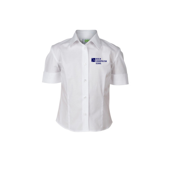 Stretchblouse, EVA, slim fit, short sleeves, Girls