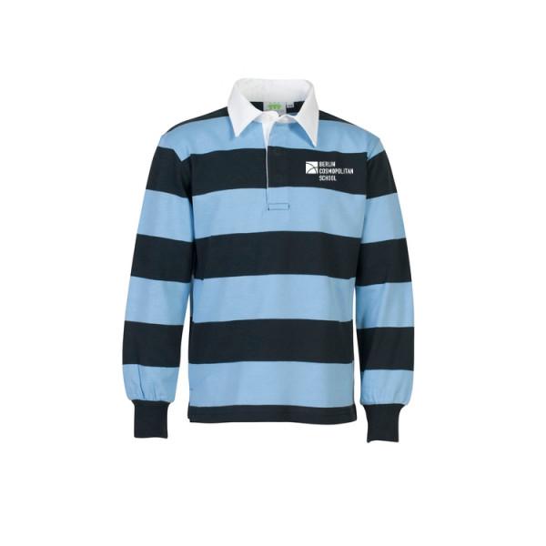 Rugbyshirt, long sleeves, unisex