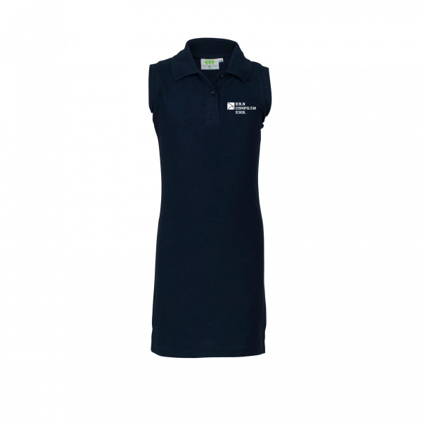Polodress, without sleeves, Girls
