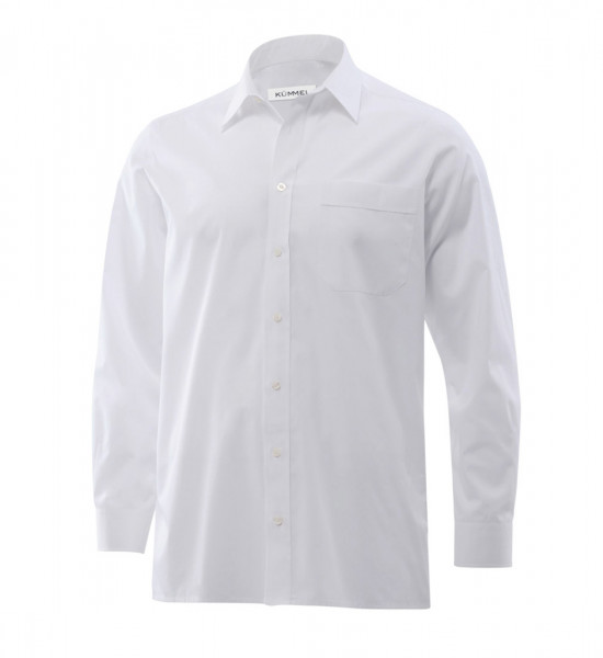 Poplin-Shirt, slim fit, long sleeves,chestpocket