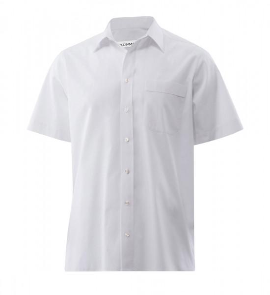 Popeline-Hemd, slimfit, kurzarm, BT