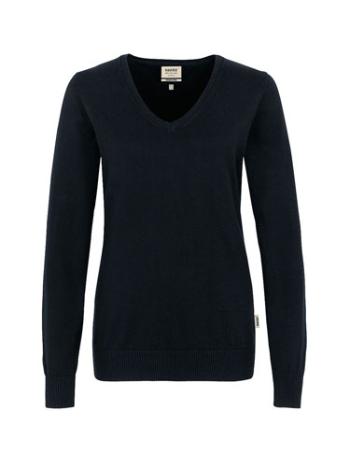 Cotton-Pullover, v-neck, Girls