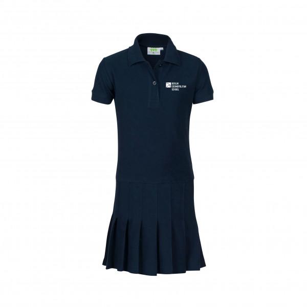 Polodress, short sleeves, Girls